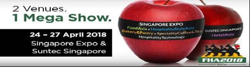2018 FHA Singapore Expo & Suntec Singapore